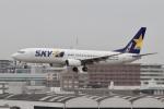 344さんが、福岡空港で撮影したスカイマーク 737-86Nの航空フォト(飛行機 写真・画像)