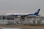 344さんが、福岡空港で撮影した全日空 777-281/ERの航空フォト(飛行機 写真・画像)