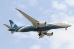 BTYUTAさんが、スワンナプーム国際空港で撮影したオマーン航空 787-9の航空フォト(飛行機 写真・画像)
