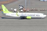 Den-Tさんが、中部国際空港で撮影したソラシド エア 737-881の航空フォト(飛行機 写真・画像)
