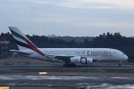 m_aereo_iさんが、成田国際空港で撮影したエミレーツ航空 A380-861の航空フォト(飛行機 写真・画像)