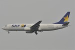 kumagorouさんが、羽田空港で撮影したスカイマーク 737-86Nの航空フォト(飛行機 写真・画像)