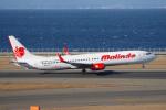 yabyanさんが、中部国際空港で撮影したマリンド・エア 737-9GP/ERの航空フォト(飛行機 写真・画像)