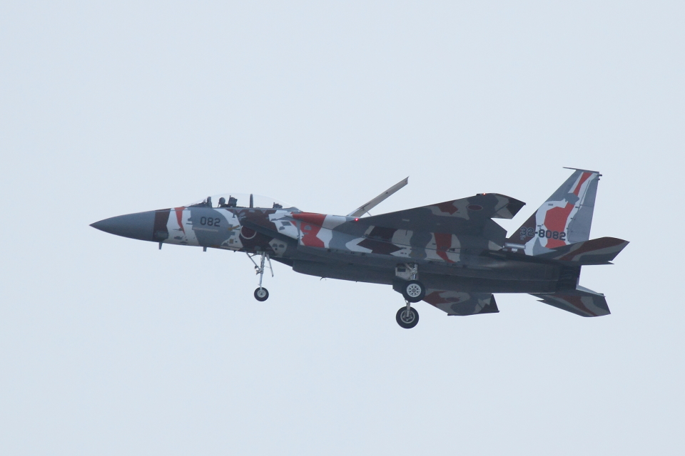 マー君さんの航空自衛隊 Mitsubishi F-15DJ Eagle (32-8082) 航空フォト