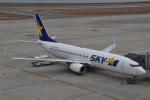 美月推しさんが、神戸空港で撮影したスカイマーク 737-8ALの航空フォト(飛行機 写真・画像)