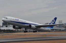美月推しさんが、伊丹空港で撮影した全日空 767-381/ERの航空フォト(飛行機 写真・画像)