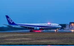 ひげじいさんが、庄内空港で撮影した全日空 767-381/ERの航空フォト(飛行機 写真・画像)
