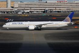 TIA spotterさんが、羽田空港で撮影したユナイテッド航空 787-10の航空フォト(飛行機 写真・画像)