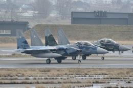 るかぬすさんが、小松空港で撮影した航空自衛隊 F-15DJ Eagleの航空フォト(飛行機 写真・画像)