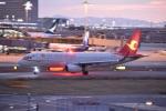 るかぬすさんが、関西国際空港で撮影した天津航空 A320-232の航空フォト(飛行機 写真・画像)