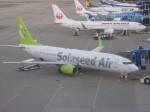 くまのんさんが、中部国際空港で撮影したソラシド エア 737-86Nの航空フォト(飛行機 写真・画像)
