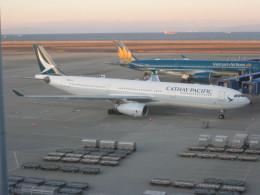 くまのんさんが、中部国際空港で撮影したキャセイパシフィック航空 A330-343Xの航空フォト(飛行機 写真・画像)