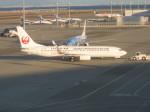 くまのんさんが、中部国際空港で撮影した日本トランスオーシャン航空 737-8Q3の航空フォト(飛行機 写真・画像)