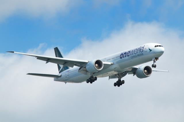 nh747dさんが、羽田空港で撮影したキャセイパシフィック航空 777-367/ERの航空フォト(飛行機 写真・画像)