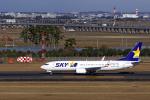 simokさんが、仙台空港で撮影したスカイマーク 737-86Nの航空フォト(飛行機 写真・画像)