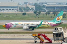 SGさんが、ドンムアン空港で撮影したノックエア 737-86Jの航空フォト(飛行機 写真・画像)
