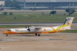 SGさんが、ドンムアン空港で撮影したノックエア DHC-8-402Q Dash 8の航空フォト(飛行機 写真・画像)