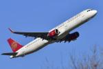 パンダさんが、成田国際空港で撮影した吉祥航空 A321-211の航空フォト(飛行機 写真・画像)