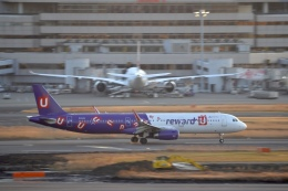 hirokongさんが、羽田空港で撮影した香港エクスプレス A321-231の航空フォト(飛行機 写真・画像)
