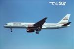 tassさんが、ロンドン・ガトウィック空港で撮影したエア2000 757-28Aの航空フォト(飛行機 写真・画像)