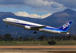 LOTUSさんが、鹿児島空港で撮影した全日空 767-381/ERの航空フォト(飛行機 写真・画像)