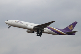 kunimi5007さんが、仙台空港で撮影したタイ国際航空 777-2D7の航空フォト(飛行機 写真・画像)