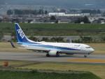 エアキンさんが、富山空港で撮影した全日空 737-881の航空フォト(飛行機 写真・画像)