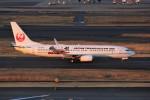 みっしーさんが、羽田空港で撮影した日本トランスオーシャン航空 737-8Q3の航空フォト(飛行機 写真・画像)