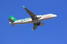 flyskyさんが、成田国際空港で撮影した春秋航空 A320-214の航空フォト(飛行機 写真・画像)