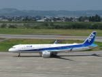 エアキンさんが、富山空港で撮影した全日空 A321-272Nの航空フォト(飛行機 写真・画像)