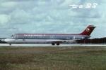 tassさんが、フォートローダーデール・ハリウッド国際空港で撮影したノースウエスト航空 DC-9-51の航空フォト(飛行機 写真・画像)