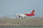 KKiSMさんが、北京首都国際空港で撮影した深圳航空 A320-271Nの航空フォト(飛行機 写真・画像)