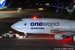 kina309さんが、羽田空港で撮影したカンタス航空 747-438/ERの航空フォト(飛行機 写真・画像)