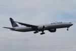 Sharp Fukudaさんが、成田国際空港で撮影したユナイテッド航空 777-322/ERの航空フォト(飛行機 写真・画像)