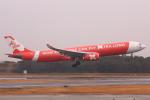 やつはしさんが、成田国際空港で撮影したエアアジア・エックス A330-343Xの航空フォト(飛行機 写真・画像)
