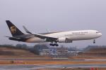 やつはしさんが、成田国際空港で撮影したUPS航空 767-34AF/ERの航空フォト(飛行機 写真・画像)