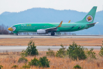 サボリーマンさんが、広島空港で撮影したノックエア 737-8FHの航空フォト(飛行機 写真・画像)