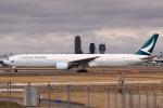 やつはしさんが、成田国際空港で撮影したキャセイパシフィック航空 777-367の航空フォト(飛行機 写真・画像)