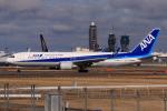 やつはしさんが、成田国際空港で撮影した全日空 767-381/ERの航空フォト(飛行機 写真・画像)