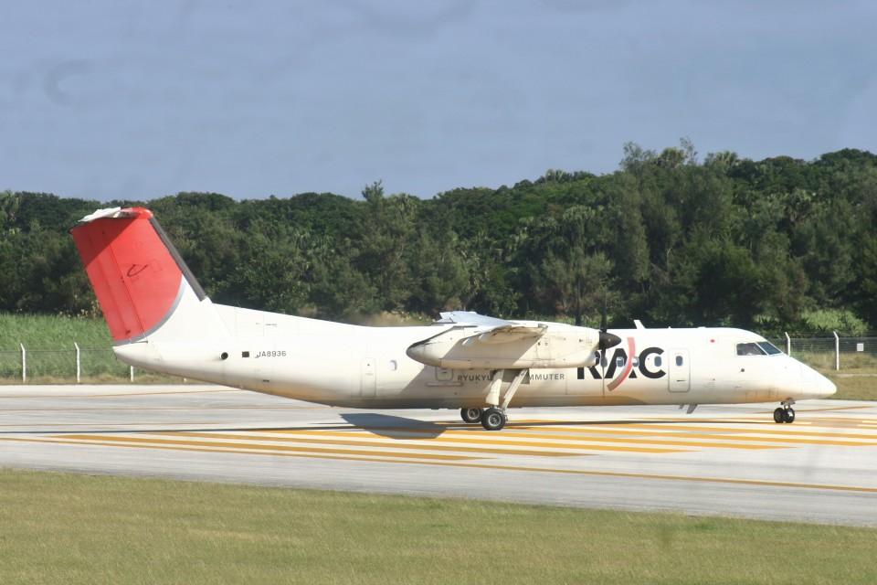 Mr.boneさんの琉球エアーコミューター Bombardier DHC-8-300 (JA8936 ) 航空フォト