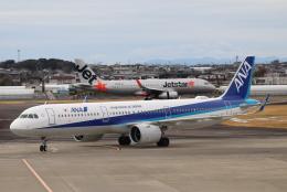 小型機専門家さんが、高知空港で撮影した全日空 A321-272Nの航空フォト(飛行機 写真・画像)
