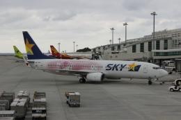 uhfxさんが、那覇空港で撮影したスカイマーク 737-86Nの航空フォト(飛行機 写真・画像)