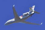 パンダさんが、成田国際空港で撮影したTVPX AIRCRAFT SOLUTIONS INC TRUSTEE Falcon 7Xの航空フォト(飛行機 写真・画像)