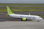 kuro2059さんが、中部国際空港で撮影したソラシド エア 737-81Dの航空フォト(飛行機 写真・画像)