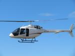 ランチパッドさんが、静岡ヘリポートで撮影した雄飛航空 505 Jet Ranger Xの航空フォト(飛行機 写真・画像)