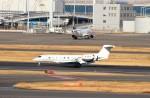 ハム太郎。さんが、羽田空港で撮影した不明 G650 (G-VI)の航空フォト(飛行機 写真・画像)