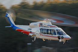 Assk5338さんが、松本空港で撮影した山梨県消防防災航空隊 S-76Dの航空フォト(飛行機 写真・画像)
