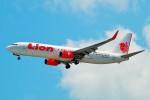 ちっとろむさんが、シンガポール・チャンギ国際空港で撮影したライオン・エア 737-9GP/ERの航空フォト(飛行機 写真・画像)