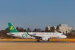 ま~くんさんが、成田国際空港で撮影した春秋航空 A320-214の航空フォト(飛行機 写真・画像)