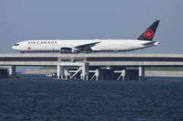 Sharp Fukudaさんが、羽田空港で撮影したエア・カナダ 777-333/ERの航空フォト(飛行機 写真・画像)